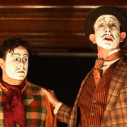 Jared Michael Delaney and Charlie DelMarcelle in <em>Dublin By Lamplight</em>. Photo: Katie Reing