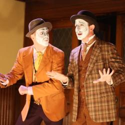 Mike Dees and Charlie DelMarcelle in <em>Dublin By Lamplight</em>. Photo: Katie Reing