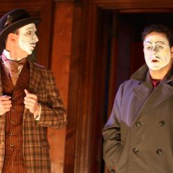 Charlie DelMarcelle and Jared Michael Delaney in <em>Dublin By Lamplight</em>. Photo: Katie Reing