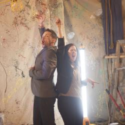 Tim Dugan and Corinna Burns in Long Live the Little Knife Photo: Katie Reing