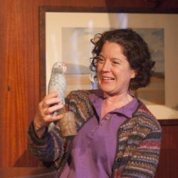Corinna Burns in Hooked! Photo: Katie Reing