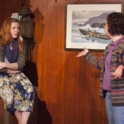 Rachael Brouder and Corinna Burns in Hooked! Photo: Katie Reing