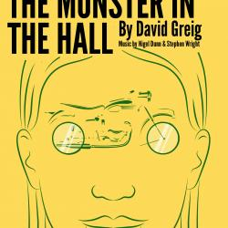 The Monster in the Hall promotional artwork. Design: Katie Reing