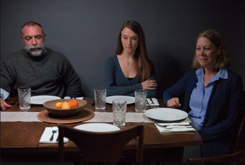 Andrew Criss, Amy Frear, and Nancy Boykin for Our Few and Evil Days. Photo: Plate 3